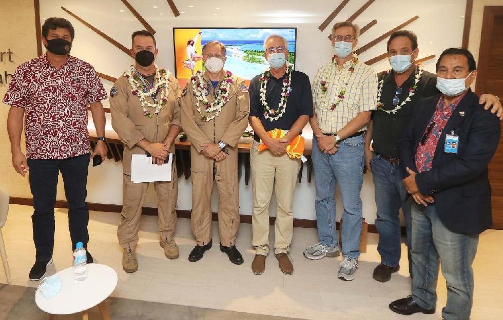 Les agents de la NASA en mission Sofia en Polynésie française